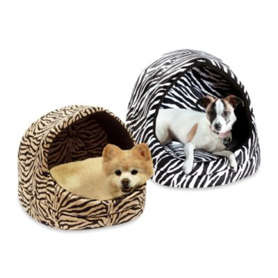 Best Friends by Sheri Small Zebra Pet Hut in Black