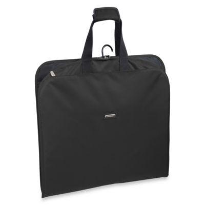 WallyBags® 45-Inch Slim Garment Bag in Black