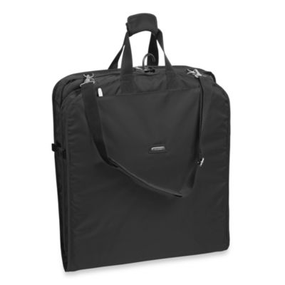 WallyBags® 42-Inch Shoulder Strap Garment Bag in Black