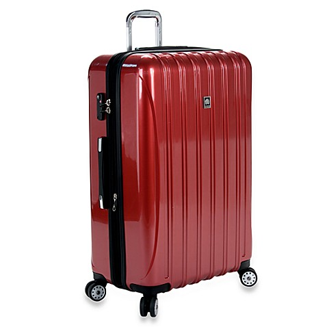 DELSEY Helium Aero 29-Inch Spinner in Red