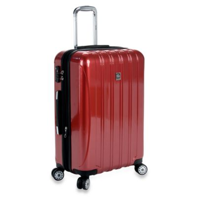 DELSEY Helium Aero 25-Inch Spinner in Red