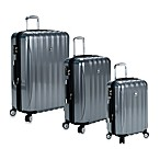 DELSEY Helium Aero Spinner Luggage in Titanium