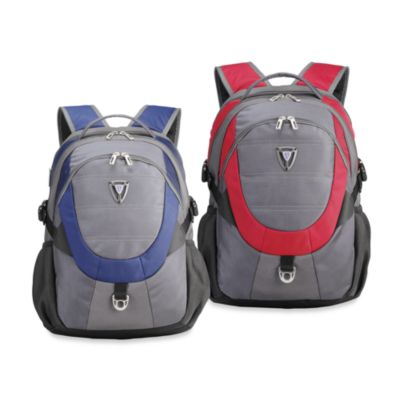 Sumdex Full Speed Armor II Backpack for 15.6-Inch Notebook in Red