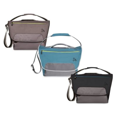 Travelon Anti-Theft React Large Messenger Bag for iPad/Tablet in Teal