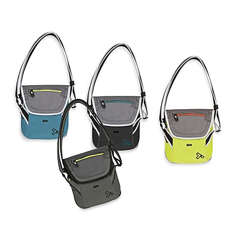 Travelon Anti-Theft React Crossbody Messenger Bag for iPad or Tablet