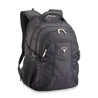 Sumdex X-sac TravelSmart Black Backpack for16-Inch PC or 17-Inch Mac