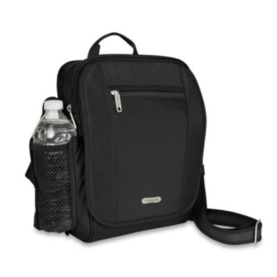 Travelon Anti-Theft React Black Medium Tour Bag