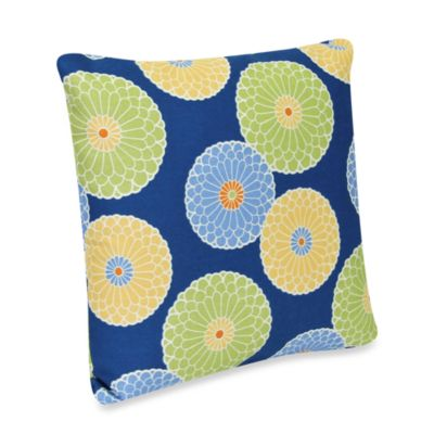 Square Outdoor Throw Pillow in Springdale Poolside
