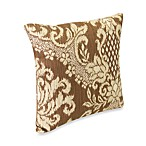 Bedazzle Chestnut 18-inch Outdoor Square Toss Pillow