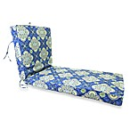 Outdoor Chaise Cushion in Amsterdam Royal