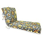 Outdoor Chaise Cushion in Wilder Graphite