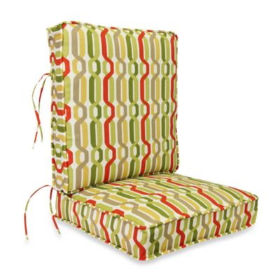 2-Piece Deep Seating Cushion in Twist Seaweed