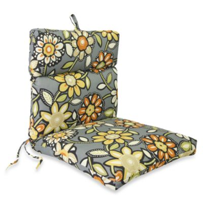 Outdoor Chair Cushion in Wilder Graphite