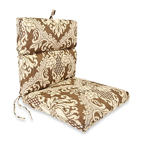 Outdoor Chair Cushion in Bedazzle Chestnut