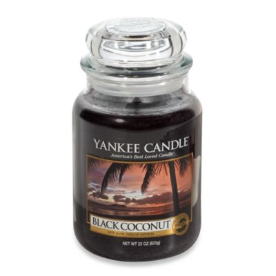Yankee Candle® Black Coconut Large Classic Candle Jar