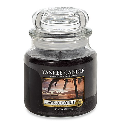 Yankee Candle® Black Coconut Medium Classic Candle Jar