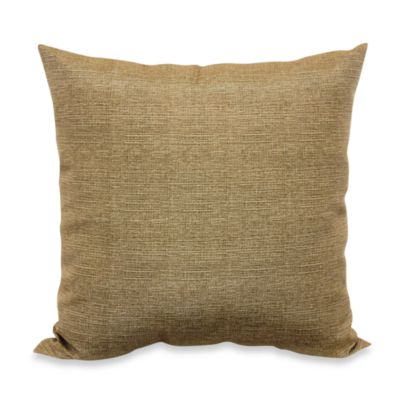 Outdoor 20-Inch Welt Cord Pillow in Chino