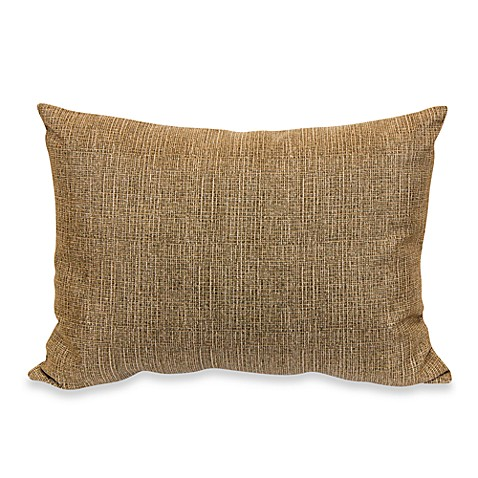 Outdoor Rectangle Knife Edge Pillow in Chino