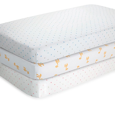 aden® by aden + anais® Patterned Muslin Classic Crib Sheet