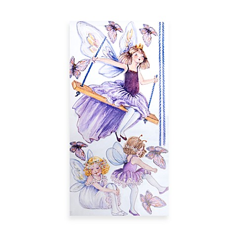 Glenna Jean Purple Fairy Wall Decals