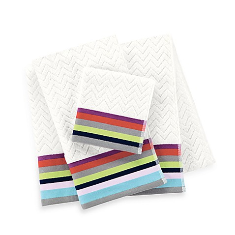 Kate spade new york brightwater ave bath towels bed bath for Bed bath and beyond kate spade