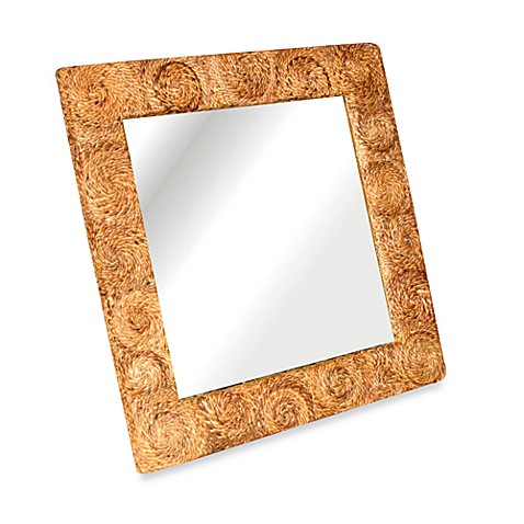 Buy buzz square mirror in large from bed bath beyond for Big square mirror