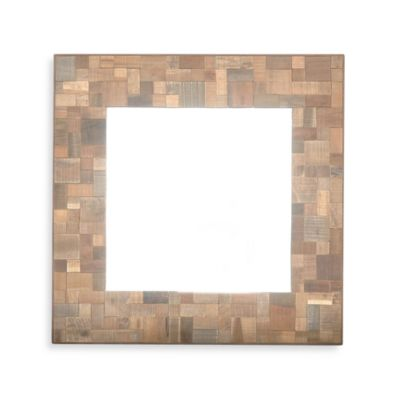 Sequoia Square Wood Mirror