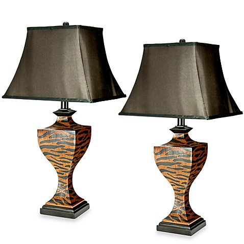Sahara Safari Table Lamps (Set of 2)