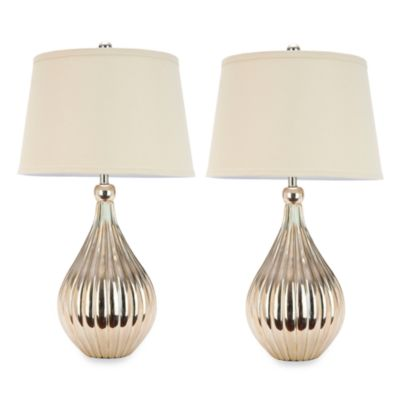 Safavieh Elli Silver Base Table Lamps (Set of 2)