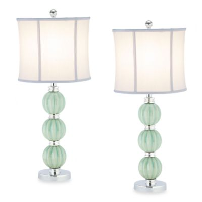 Stephanie Green Globe Table Lamps (Set of 2)