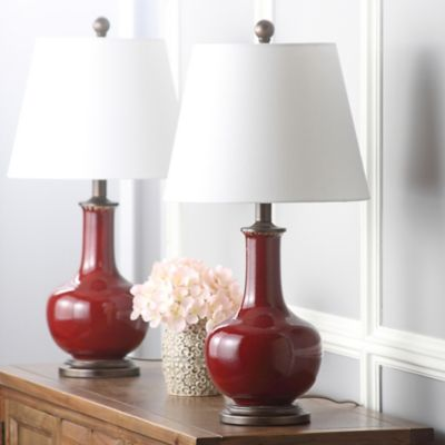 Safavieh Carolanne Ceramic Table Lamp (Set of 2)