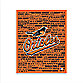 Baltimore Orioles Typography Canvas Art
