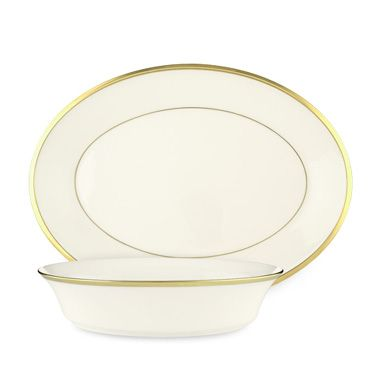 Lenox® Eternal® White Oval Platter