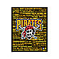 Pittsburgh Pirates Typography Canvas Art
