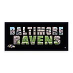 Baltimore Ravens Canvas Art Team Pride