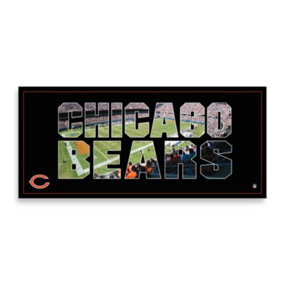 Chicago Bears Canvas Art Team Pride