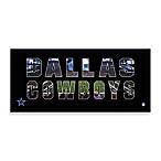 Dallas Cowboys Canvas Art Team Pride