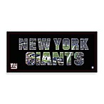 New York Giants Canvas Art Team Pride