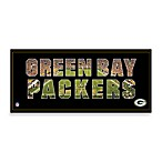Green Bay Packers Canvas Art Team Pride