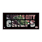 Kansas City Chiefs Canvas Art Team Pride