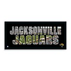 Jacksonville Jaguars Canvas Art Team Pride