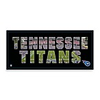 Tennessee Titans Canvas Art Team Pride