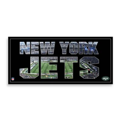 New York Jets Canvas Art Team Pride