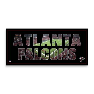 Atlanta Falcons Canvas Art Team Pride