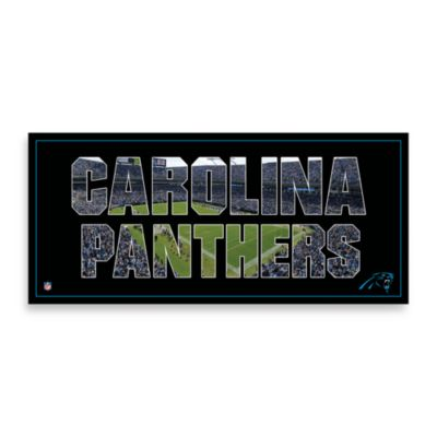 Carolina Panthers Canvas Art Team Pride