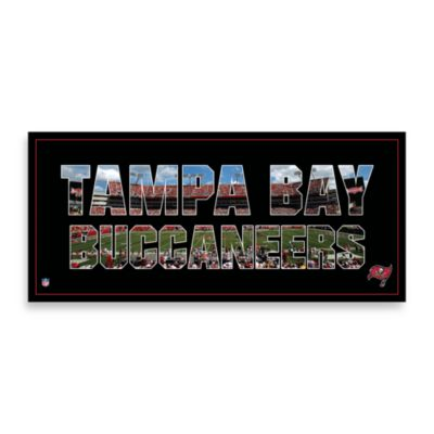 Tampa Bay Buccaneers Canvas Art Team Pride