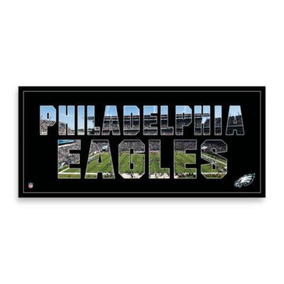 Philadelphia Eagles Canvas Art Team Pride