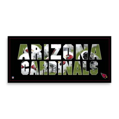 Arizona Cardinals Canvas Art Team Pride