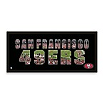 San Francisco 49ers Canvas Art Team Pride