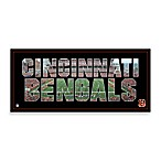 Cincinnati Bengals Canvas Art Team Pride